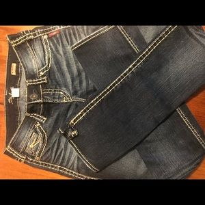 Silver McKenzie jeans. Very new looking